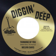 """DD 014A Melvin Davis """"Thinking Of You"""" / DD 014B Melvin Davis """"Let Love In Your Life"""""""
